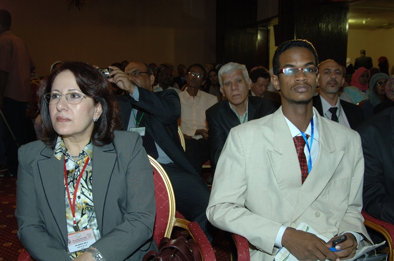 Photo of me in the Eleventh Arab Conference